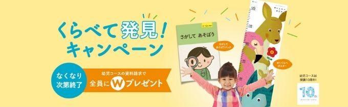 Z会幼児お試しキャンペーン