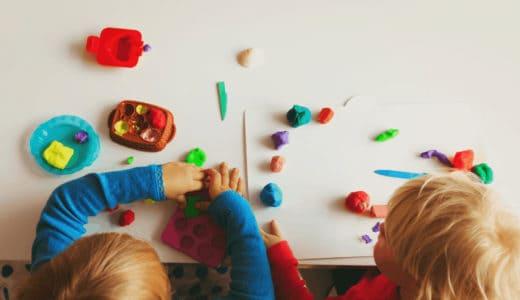 粘土で知育遊びをはじめよう!気になる知育効果と年齢別おすすめ粘土!