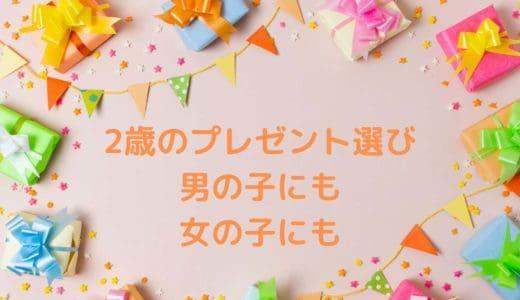 2歳の誕生日プレゼントは実用的なもの?男の子女の子にもおすすめ知育もの!